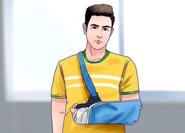 एक डिस्लोकेटेड कंधे के चरण 2 को ठीक करें