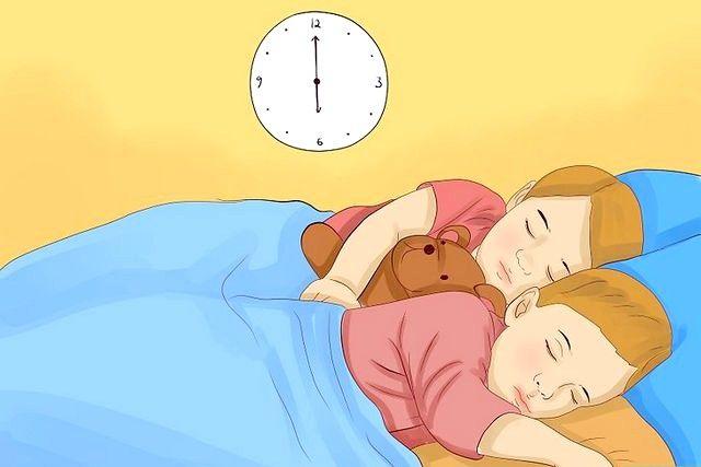 बिस्तर में रहने वाले ट्विन टॉडलर्स शीर्षक वाली छवि चरण 15