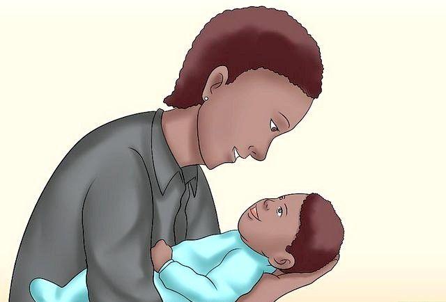 क्रैड होल्ड ए बेबी चरण 2 नामक छवि