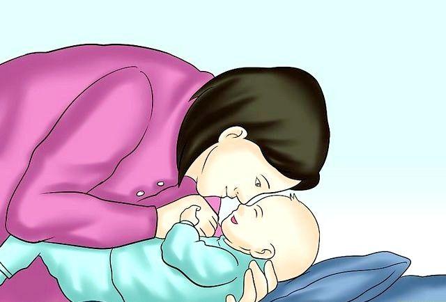 क्रैड होल्ड ए बेबी चरण 6 नामक छवि