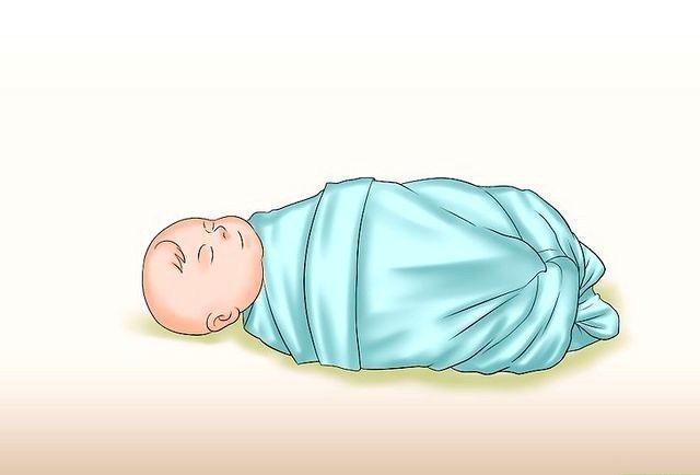 क्रैडल होल्ड ए बेबी चरण 9 नामक छवि