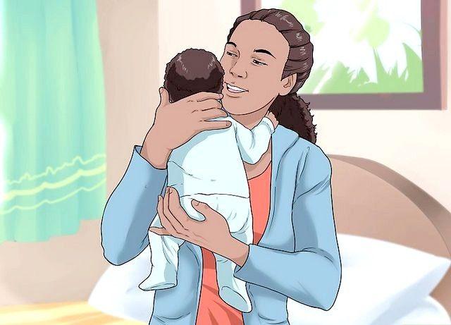 छवि शीर्षक से एक बेबी चरण 2 रखें