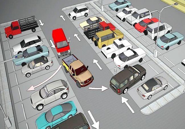 पार्किंग स्थल में अच्छे व्यवहार का उपयोग कैसे करें