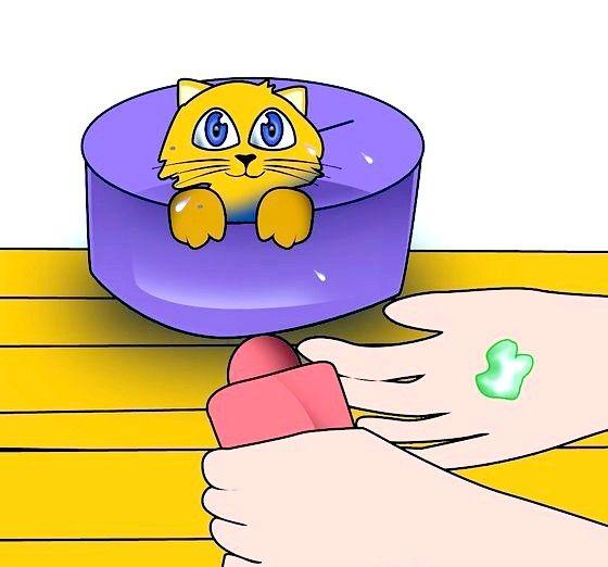 आपके हाथ में शैम्पू की छोटी मात्रा शीर्षक वाली छवि चरण 6
