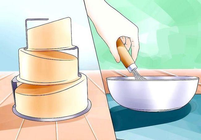कैसे असममित केक molds का उपयोग करें