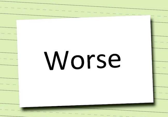 अंग्रेज़ी में खराब और सबसे खराब कैसे इस्तेमाल करें