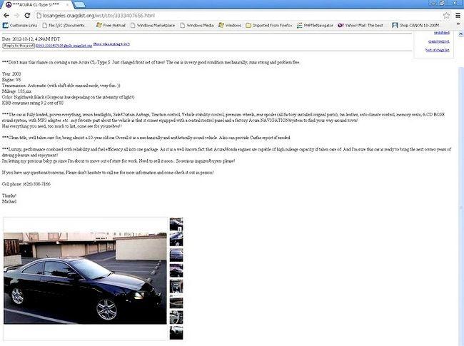 आपकी कार निजी रूप से चरण 3 बेचें शीर्षक वाला छवि