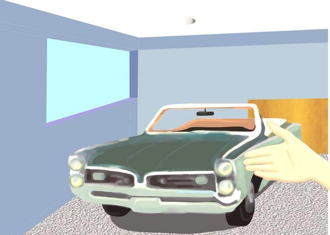 कैसे एक ऑटोमोबाइल पेंट करने के लिए