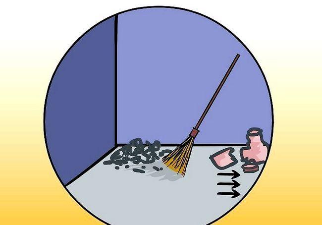 कंक्रीट के तल को कैसे पेंट करें