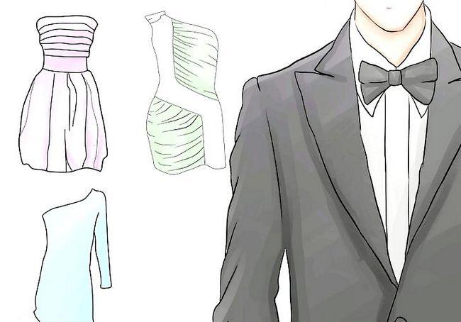 चित्र शीर्षक के लिए पोशाक के लिए एक पूर्वाभ्यास डिनर चरण 7