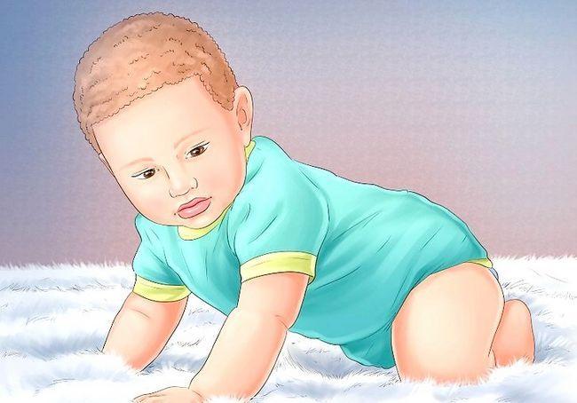 चित्र एक बच्चा कदम 10 शीर्षक