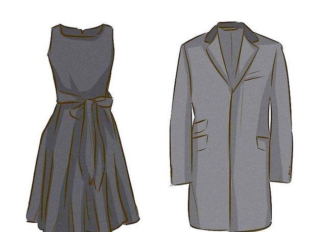 एक फनरल स्टैप के लिए ड्रेस अप चित्र
