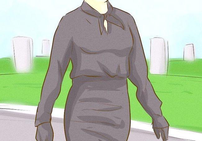 एक फनरल स्टैप 4 के लिए ड्रेस अप चित्र