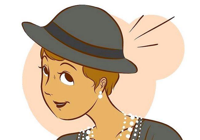 कोको चैनल चरण 6 के अनुसार पोशाक वाला चित्र