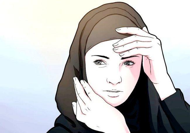 चित्र शीर्षक से एक मुस्लिम लड़की के रूप में विनम्रता चरण 1