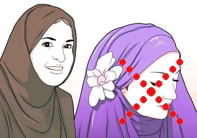 चित्र शीर्षक से एक मुस्लिम लड़की के रूप में विनम्रता चरण 2