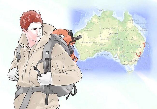 ऑस्ट्रेलिया में एक बैग के साथ यात्रा कैसे करें