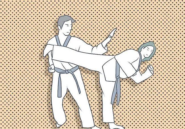 छवि शीर्षक में विन प्रतियोगी स्पारिंग (तायक्वोंडो) चरण 9