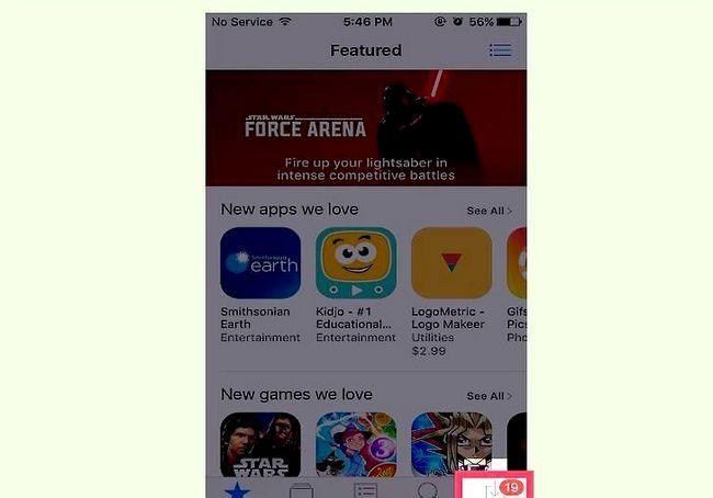 आईओएस में खरीदे गए एप्स देखें शीर्षक वाला इमेज चरण 7