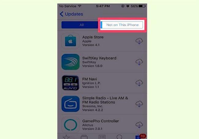 आईओएस में खरीदे गए एप्स देखें शीर्षक वाला इमेज चरण 9