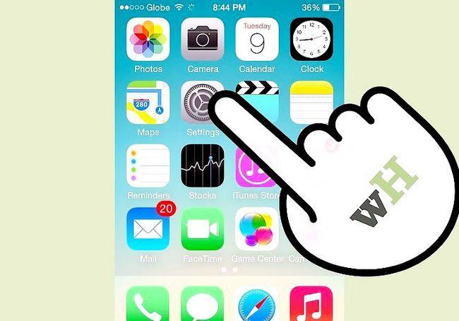 एक iPhone चरण 1 पर बैटरी प्रतिशत प्राप्त शीर्षक वाली छवि