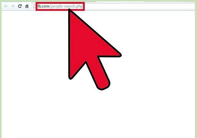 एक फेसबुक प्रोफाइल को देखें, जिसका शीर्षक है ऊपर साइन अप के बिना चरण 1
