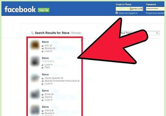 बिना साइन अप किए एक फेसबुक प्रोफ़ाइल को देखो शीर्षक छवि 4 चरण 4