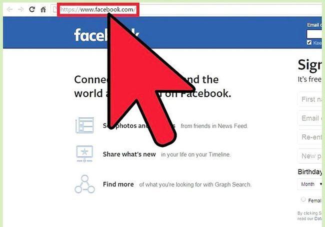 बिना साइन अप किए एक फेसबुक प्रोफ़ाइल को देखो शीर्षक छवि 5 कदम