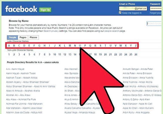 साइन अप के बिना एक फेसबुक प्रोफाइल को देखो शीर्षक छवि 9 कदम