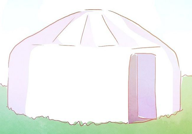कैसे एक Yurt में रहते हैं