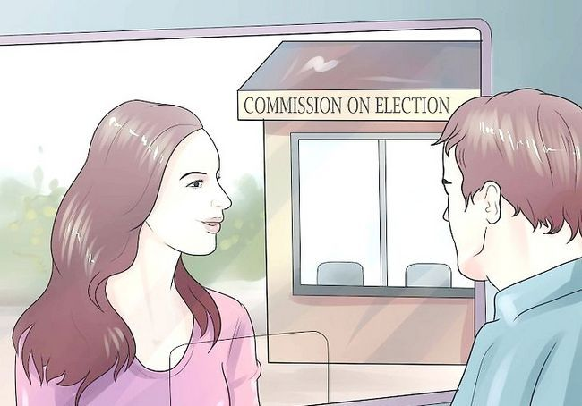 फिलीपींस चरण 1 में पहली बार मतदाता के रूप में रजिस्टर छवि